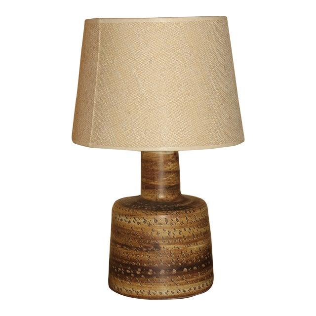 1960s Gordon and Jane Martz Studio Lamp With Original Shade For Sale