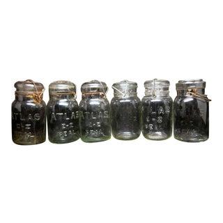 Atlas Canning Jars -Set of 6