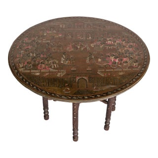 Early 20th Century Indian Tea Table For Sale