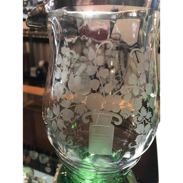 20th Century Vintage Heisey Silver Gilt Lemonade Set - 7 Pieces For Sale In Philadelphia - Image 6 of 8