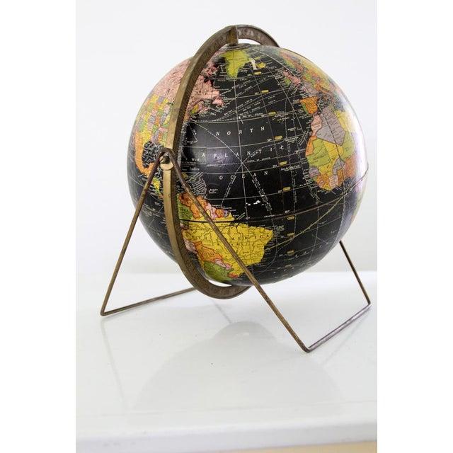 Black 1961 Cram's Universal Globe For Sale - Image 8 of 9