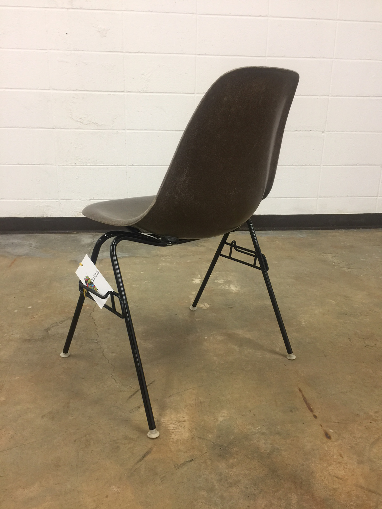 Superior Eames For Herman Miller Seal Brown Fiberglass Shell Chair   Image 4 Of 8
