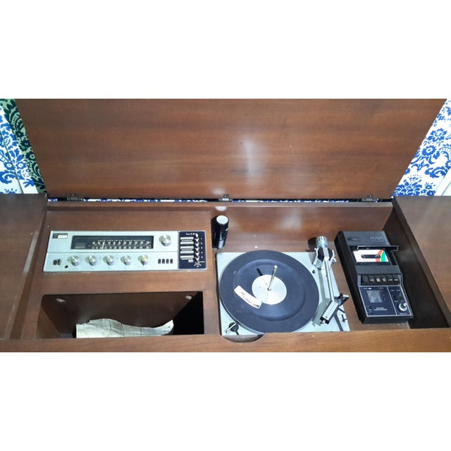 Vintage Fisher President Stereo Console For Sale - Image 6 of 6