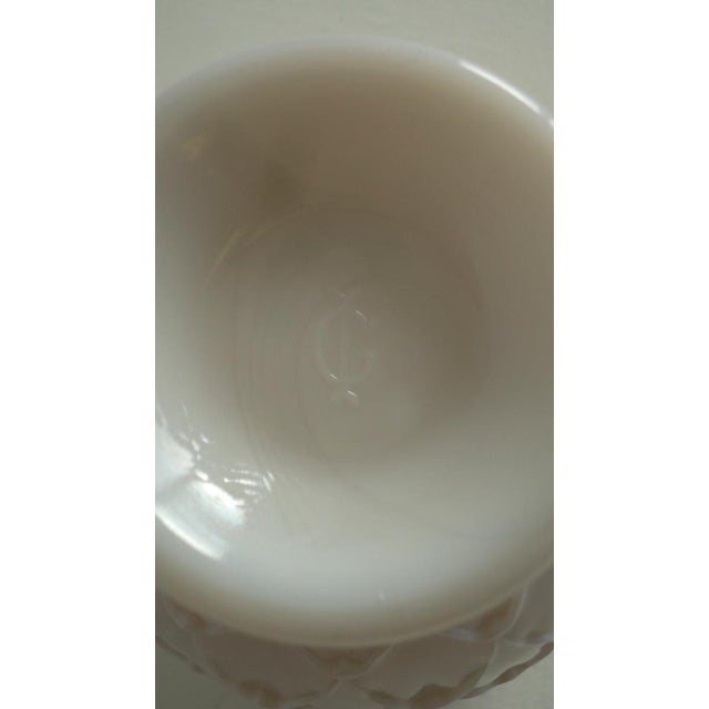 Pale Pink Milkglass Vase - Image 3 of 3