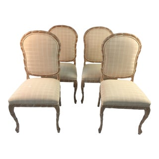 1980s Mid-Century Modern Century Furniture Dining Chairs - Set of 4