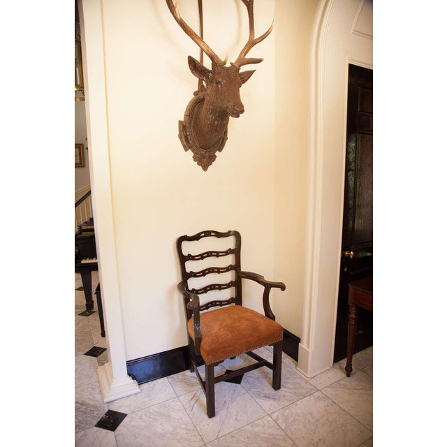 Pair of Mahogany Ladder Back Chairs - Image 7 of 8