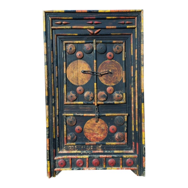 Antique Punjab Dowry Cupboard-Cabinet - Image 1 of 11