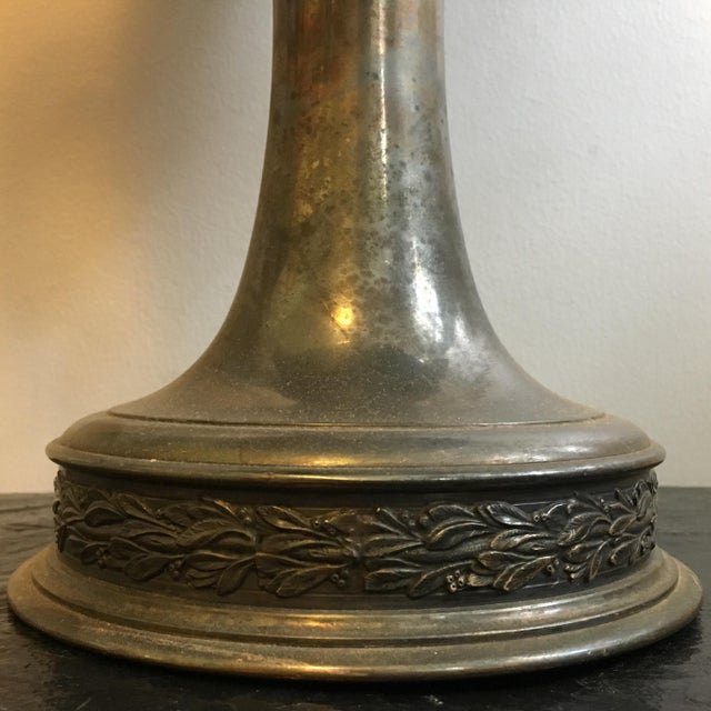 Silver Early 1900's Oversized Dog Show Loving Cup For Sale - Image 8 of 10