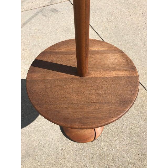 Mid-Century Modern Mid-Century Modern Vintage Teak Floor Lamp For Sale - Image 3 of 13