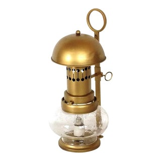 1960s Brass Lantern For Sale