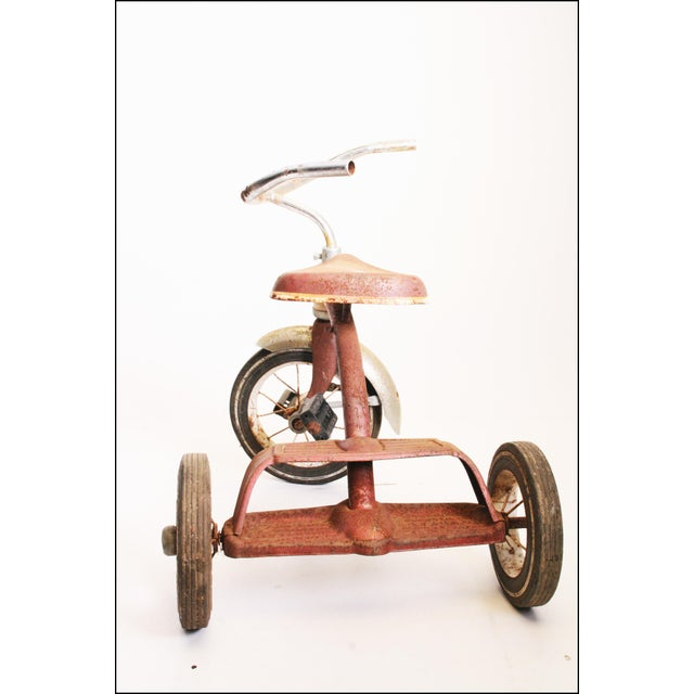 Vintage Rustic Metal Child's Tricycle - Image 9 of 11