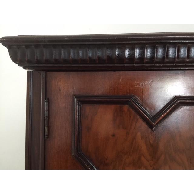 Wood 19th Century Mediterranean 3- Door Armoire For Sale - Image 7 of 11