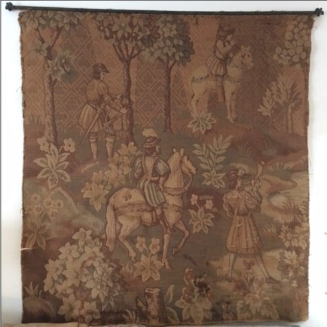 Hunt Scene Tapestry - Image 2 of 3