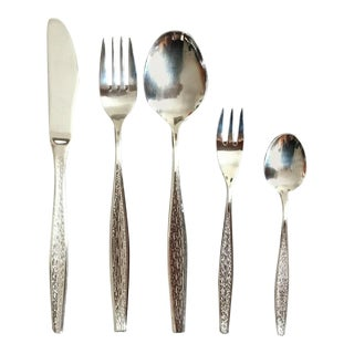 Flamenco Cutlery Set by Berndorf, 1976 - Set of 30