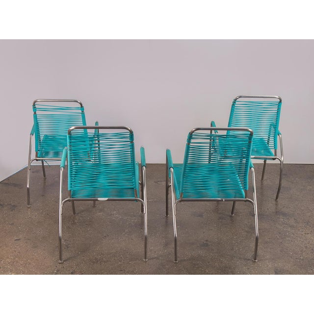 Ames Aire Patio Chairs - Set of 4 For Sale In New York - Image 6 of 9