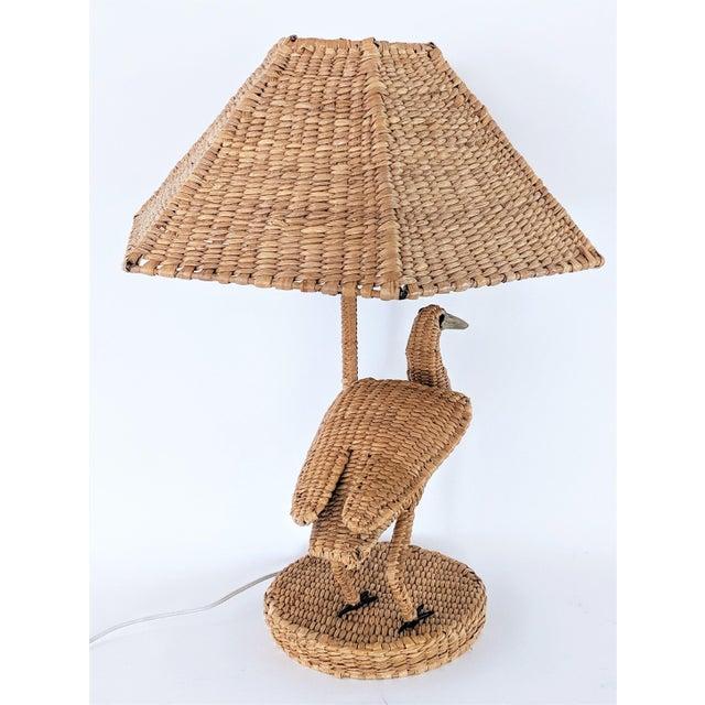 Mario Lopez Torres 1970s Mario Lopez Torres Crane Table Lamp For Sale - Image 4 of 12