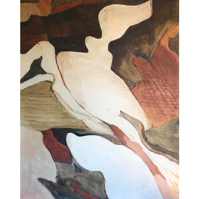 Mid-Century Abstract Expressionist Painting For Sale In San Francisco - Image 6 of 6