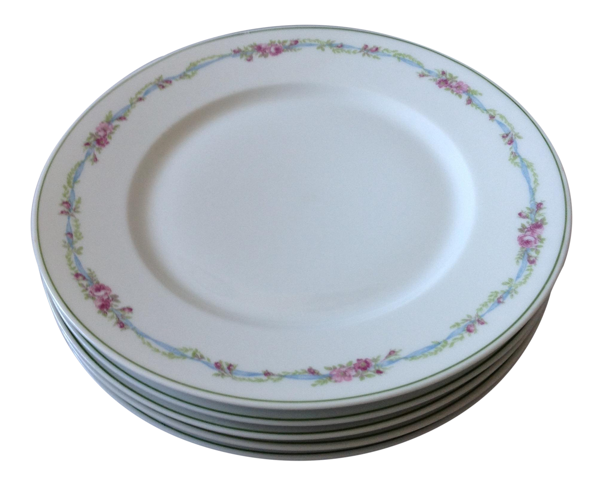 French Limoges Porcelain Plates - Set of 5 - Image 1 of 8  sc 1 st  Chairish & French Limoges Porcelain Plates - Set of 5 | Chairish