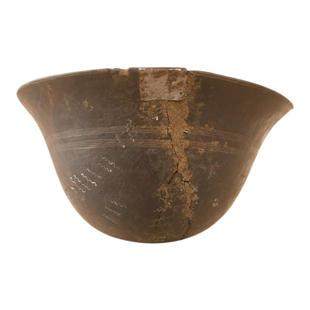 Vintage Wooden African Bowl - Image 1 of 10