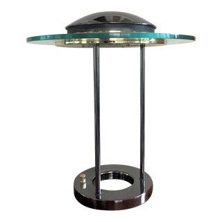1980s Robert Sonneman Saturn Lamp for Kovacs For Sale
