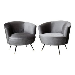 Gray Safavieh Side Chairs - A Pair