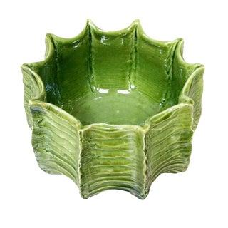 Organic Medium Ceramic Planter For Sale