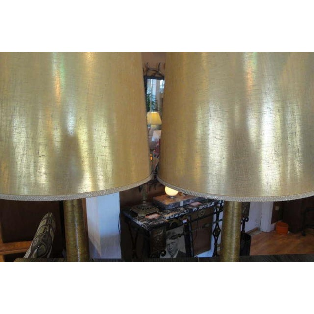 Paul Hanson Hollywood Regency Lamps - A Pair - Image 3 of 7