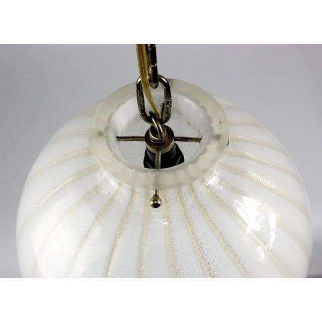 Mid-Century Modern Murano Lighting Chandelier - Image 4 of 6