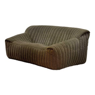 Mid-Century Design Two-Seat Sofa by Annie Hieronymus for Cinna 'Ligne Roset', France For Sale
