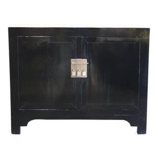 1940s Vintage Black Coffer For Sale