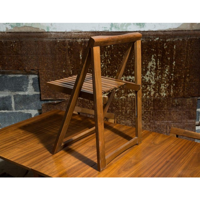 Drop Leaf Veneer Dining Set - Image 7 of 11