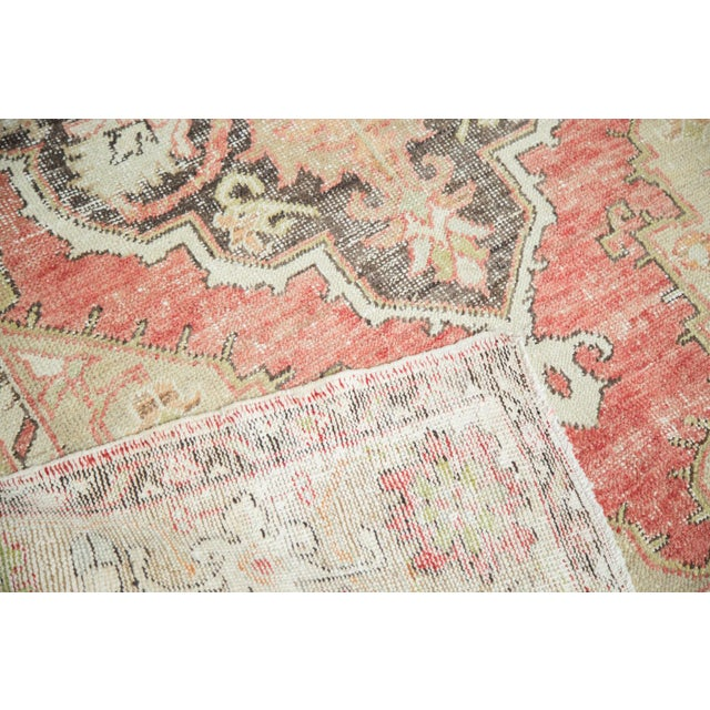 Vintage Oushak Carpet - 4′10″ × 8′2″ - Image 5 of 10
