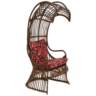1950s Franco Albini Inspired Cobra Chair For Sale