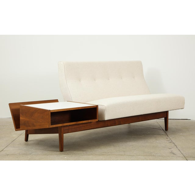 Jens Risom Sofa With Magazine Table For Sale - Image 13 of 13