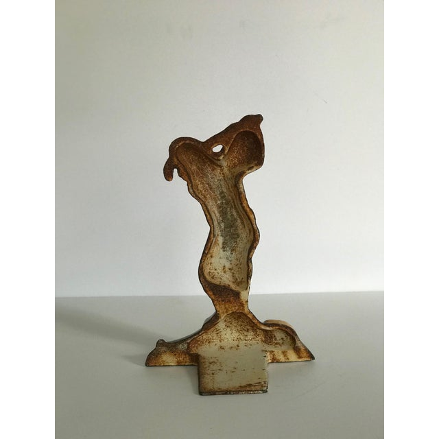 American Early 20th Century Vintage Golfer Door Stop For Sale - Image 3 of 6