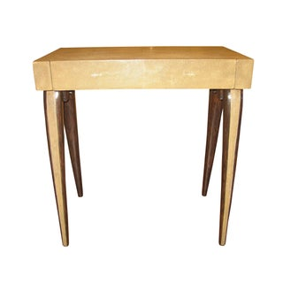 R & Y Augousti Genuine Shagreen End Table