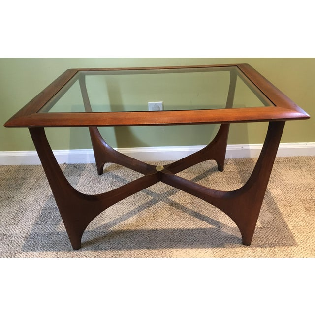 Adrian Pearsall For Lane Furniture Walnut Coffee Table