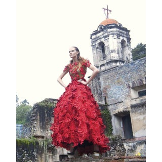 """Vogue 11"" Mexico City Convent Photograph For Sale"