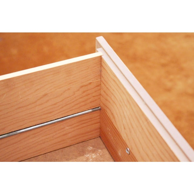 Midcentury Modern 6-Drawer Dressers, a Pair - Image 7 of 11