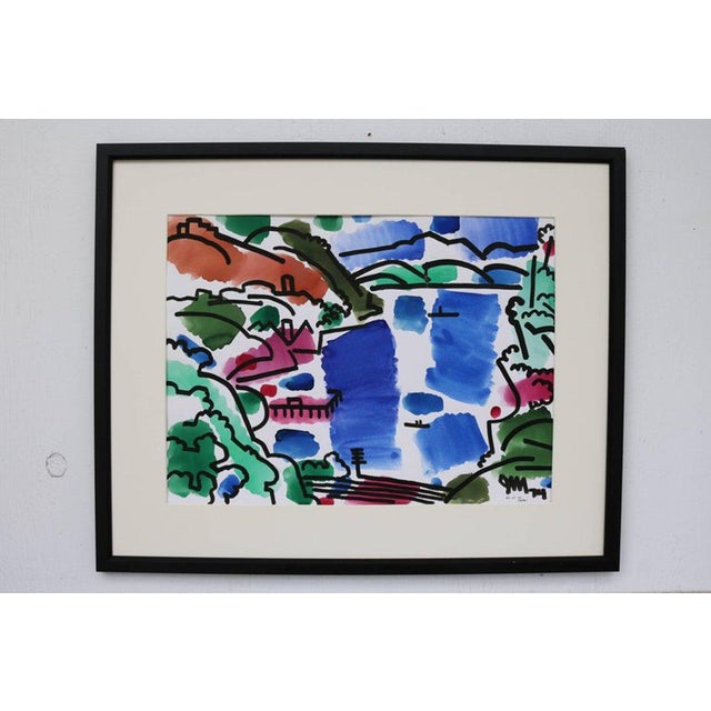 Paint Landscape Watercolor by James McCray #10 For Sale - Image 7 of 8
