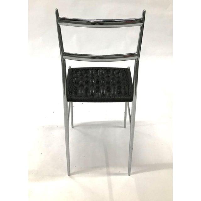 """Leggera"" Chrome Chair by Gio Ponti, 1960s For Sale In Atlanta - Image 6 of 11"