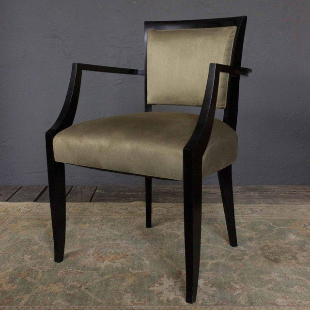 Chair Frame for a Reproduction 1940s Style Armchair For Sale In New York - Image 6 of 7