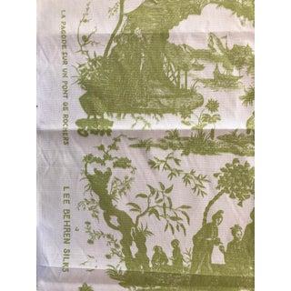 Chinoiserie Lee Behren Silks Toile - 1 Yard Preview