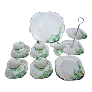 English Afternoon Tea Service - Set of 15 For Sale