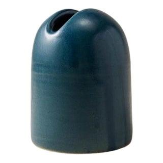 Contemporary Handmade Ceramic Dom Holder - Azure