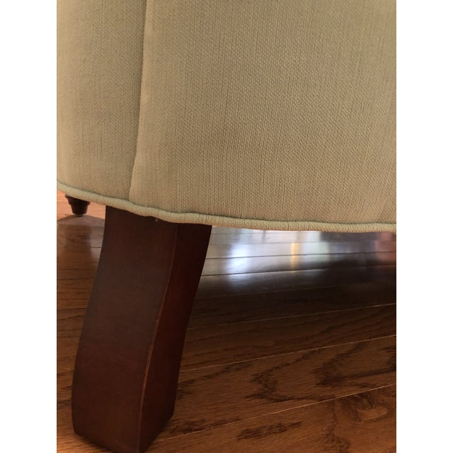 Anthropologie Blue Chesterfield Sofa For Sale - Image 10 of 11