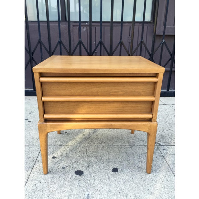 Mid-Century Lane Rhythm End Table Nightstand - Image 4 of 10