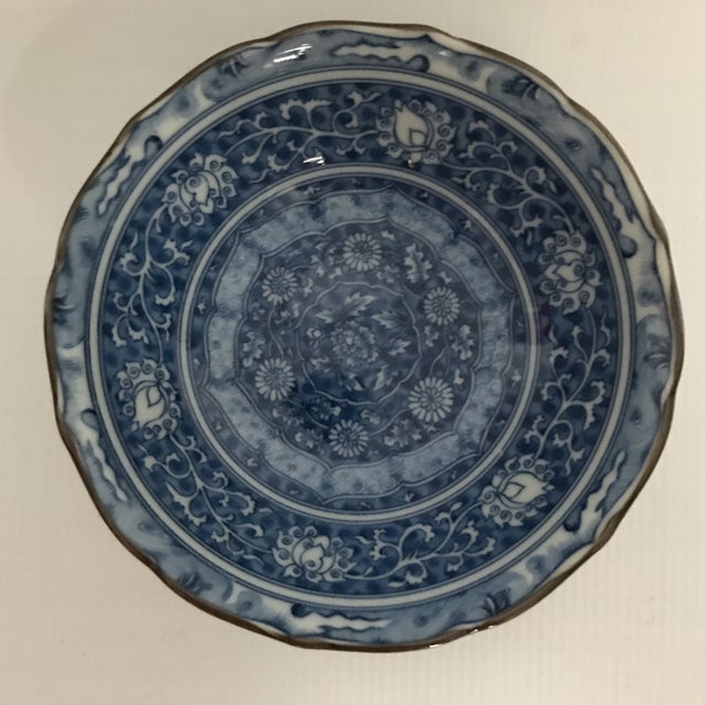 Blue & White Chinese Porcelain Bowl For Sale - Image 11 of 11