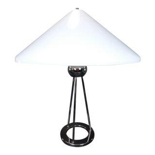 Walter Von Nessen Chrome Tripod Table Lamp For Sale