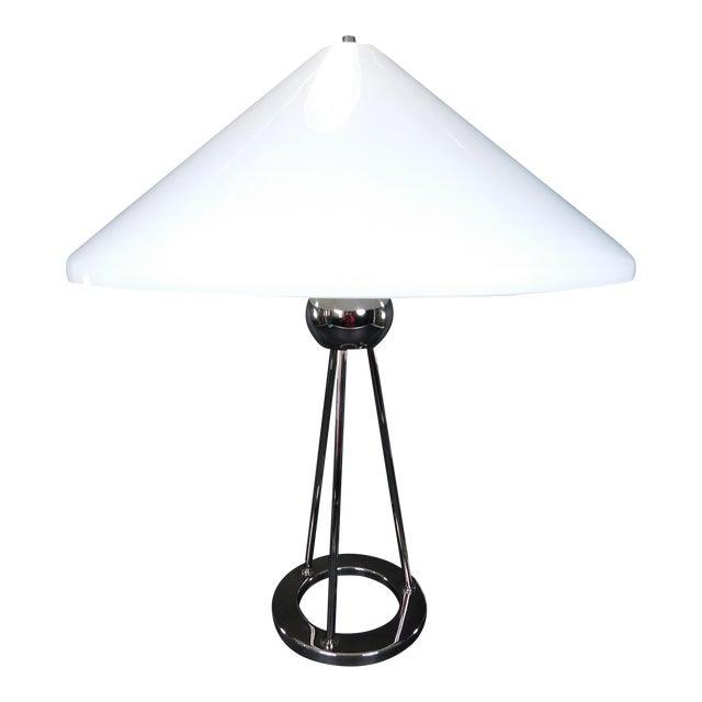 Walter von nessen chrome tripod table lamp chairish walter von nessen chrome tripod table lamp for sale aloadofball Image collections